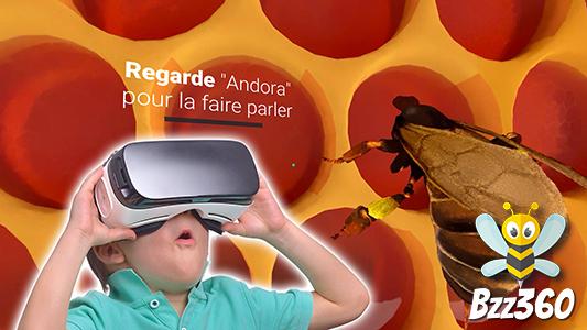 Communiqué de presse : Quand un petit parc animalier se lance dans la réalité virtuelle